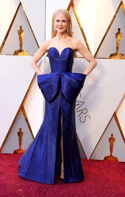 Actress Nicole Kidman in Armani Prive