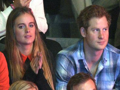 Cressida Bonas and Prince Harry in 2014 shortly before their breakup.
