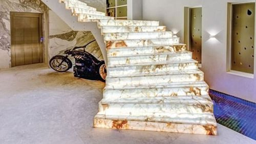 The unpaid marble staircase (Image: Surething Realty)