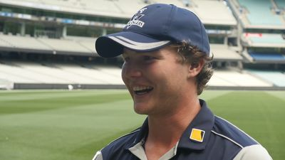 Young gun Will Pucovski impresses with maiden first-class hundred
