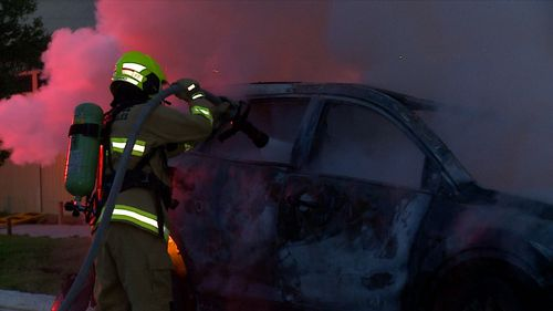 Emergency crews worked extensively to extinguish the blaze.