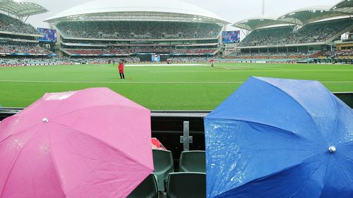 Strikers-Thunder BBL match abandoned due to heavy rain