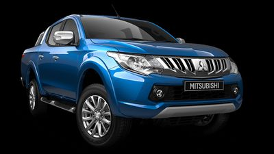 The Mitsubishi Triton GLX was rated the best value dual-cab 4x4 ute, with the Ford Ranger XLS coming second, and the Mazda BT-50 XT coming third. (Supplied)