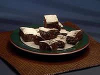 Chocolate nougat brownie