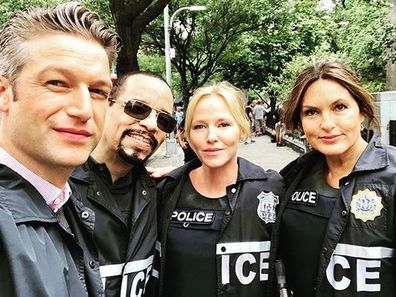 Ice-T and Law & Order: SUV cast