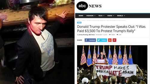 Fake news writer says he is responsible for Trump presidency