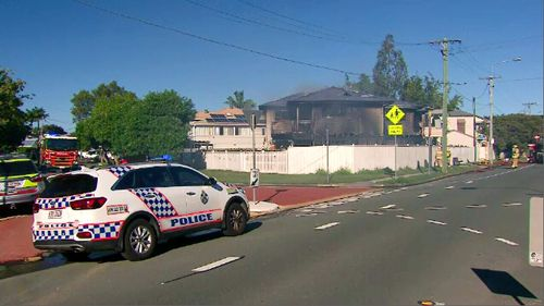 """Queensland's Police Commissioner has said a Brisbane man's actions that saw him allegedly set his house on fire after being released from custody were """"not foreseeable""""."""