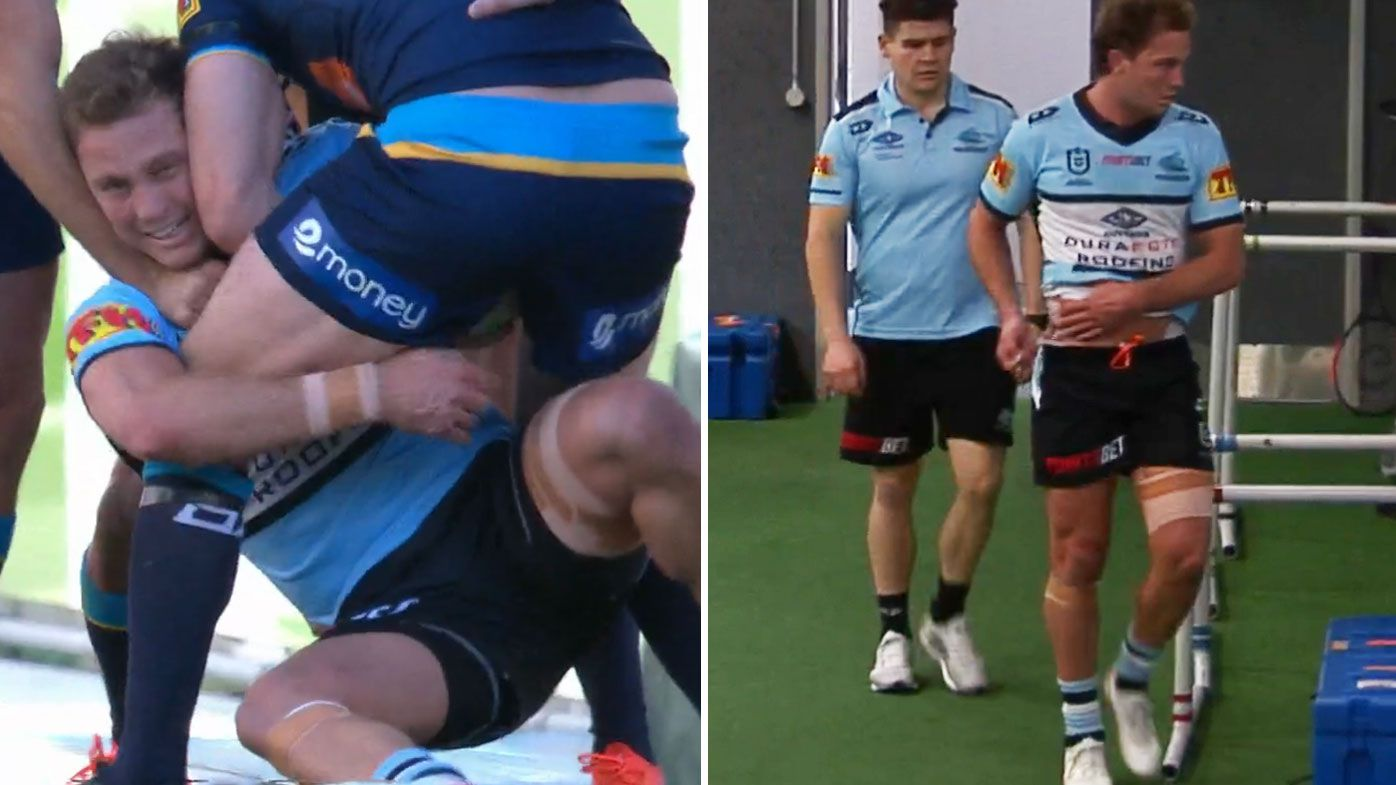 Sharks Matt Moylan's horror injury run continues