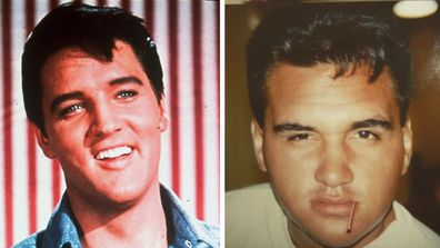 Dakota Striplin's dad Wayne from and Elvis Presley