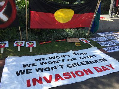 Invasion Day protest
