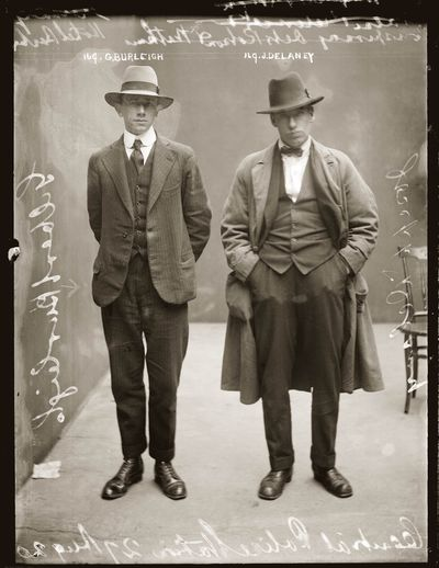 Gilbert Burleigh and Joseph Delaney, 1920