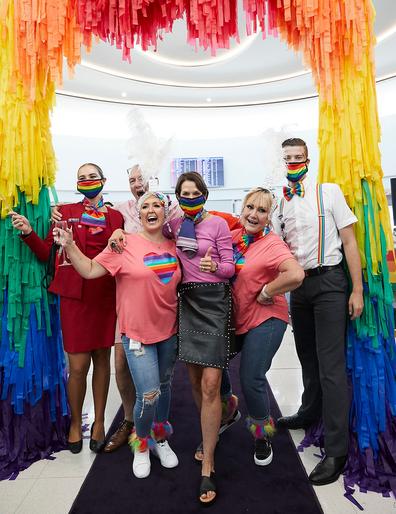 Virgin Australia Pride Flight pre-party