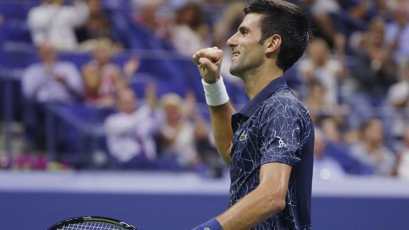 Novak Djokovic defeats John Millman to advance to US Open semi-finals