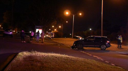 The fatal collision occurred at approximately 9pm last night on the Princes Highway near Winterton Road.