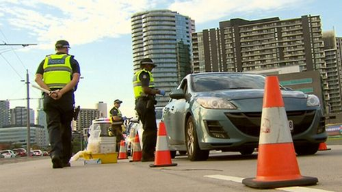 Cocaine is linked to less than one percent of road trauma cases. (9NEWS)