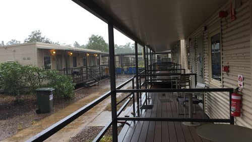 Block D at the Howard Springs Quarantine Facility in the Northern Territory.