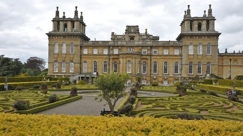 The work was stolen from Blenheim Palace.