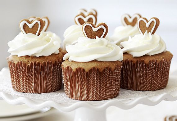 Ginger cupcakes