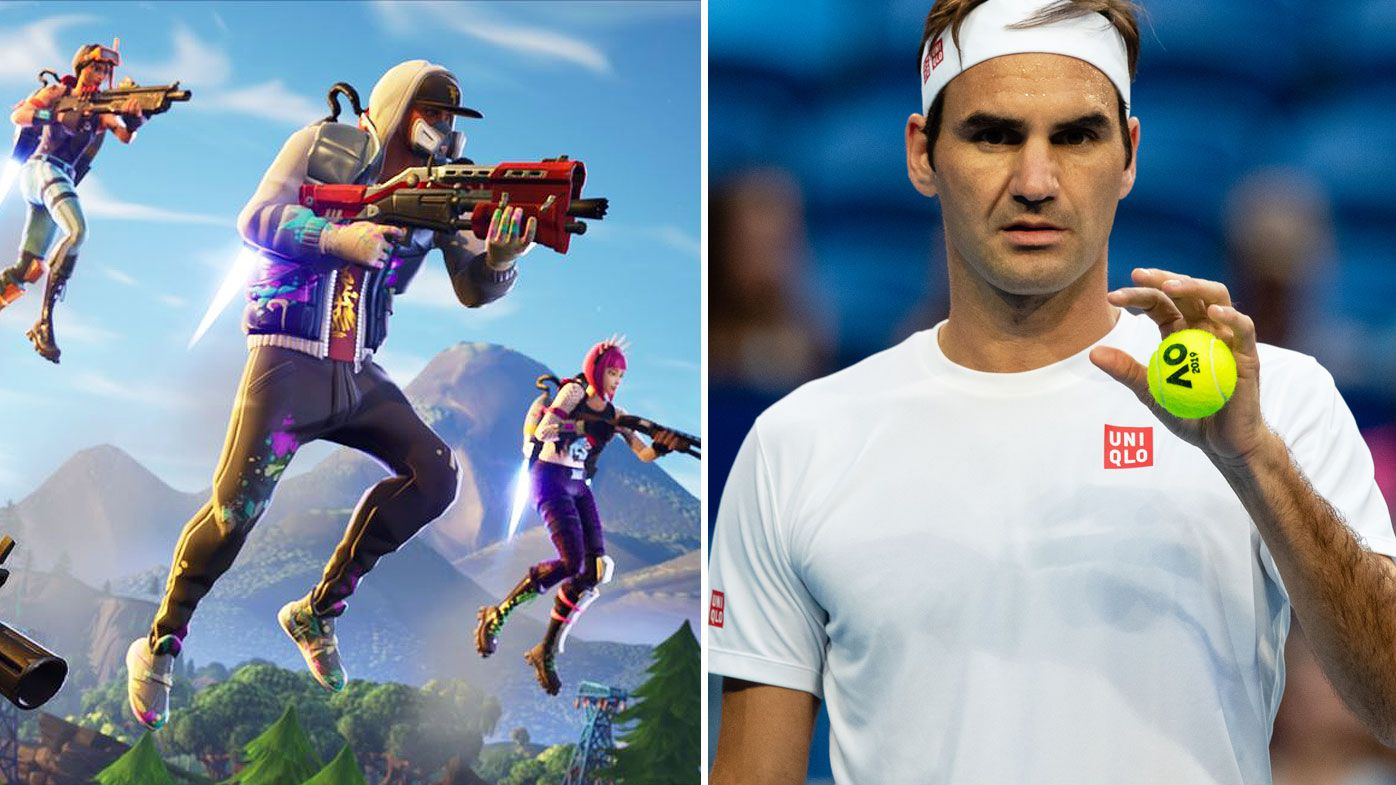 Fortnite lands at Aus Open 2019