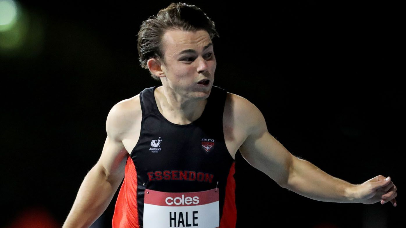 Rising Australian sprint wonder Jack Hale breaks 55-year national record in lightning-quick run in Geelong, fueling confidence for Tokyo Olympics