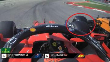 Ricciardo accused of 'dirty' driving by rival