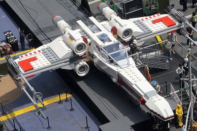 Largest Lego model<br>