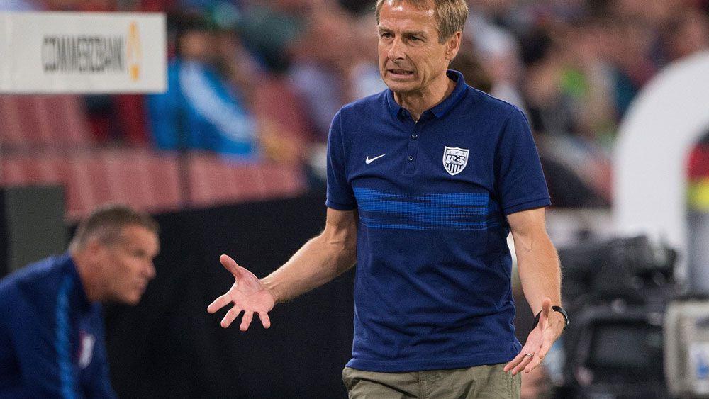 Juergen Klinsmann has been sacked as US men's team coach. (AAP)