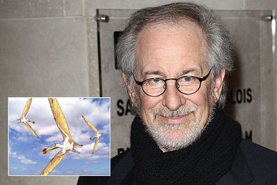 "Anhanguera, which means ""old devil"", is a genus of pterodactyloid pterosaur named after <i>Jurassic Park</i> director Steven Spielberg."