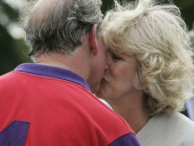 Prince Charles and Camilla, Duchess of Cornwall, 2005