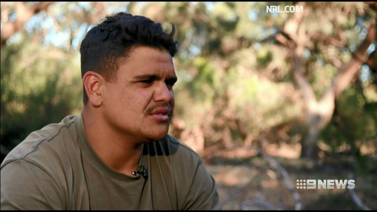 Latrell Mitchell feeling 'mentally drained', says brother Shaquai
