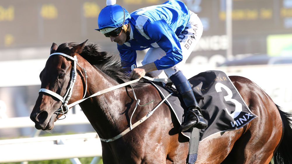 Winx out of Queen Elizabeth Stakes