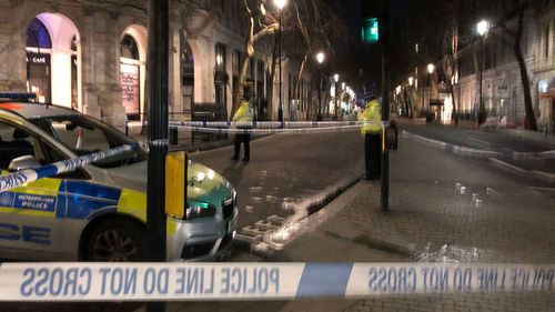 Man shot dead by police in central London