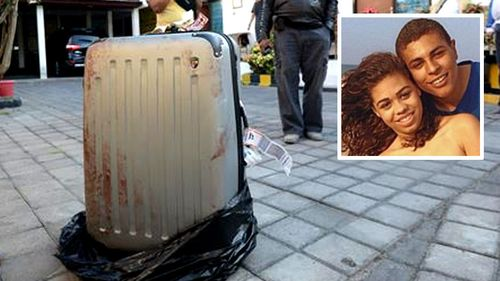 The battered body of Sheila von Wiese Mack was found in a suitcase in the boot of a Balinese taxi. (Supplied)