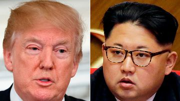 "North Korea has stopped short of saying it has any intention of abandoning its nuclear arsenal, with Kim making clear that nukes remain a ""treasured sword"". (AP)"