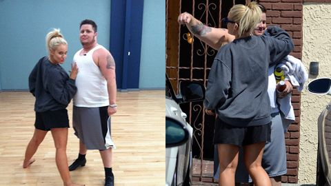 Chaz Bono shows off his DWTS moves