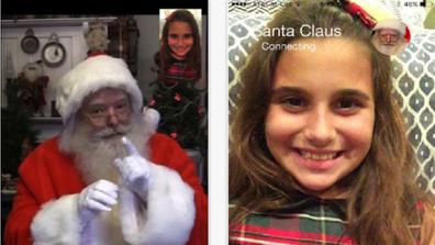 video call santa claus app