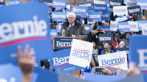 Bernie Sanders is considered the frontrunner of Democratic candidates running for President.