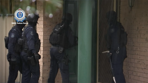 Officers from Strike Force Raptor North executed 10 search warrants at properties across rural NSW including Mudgee, Dubbo and Muswellbrook shortly after 7am yesterday.