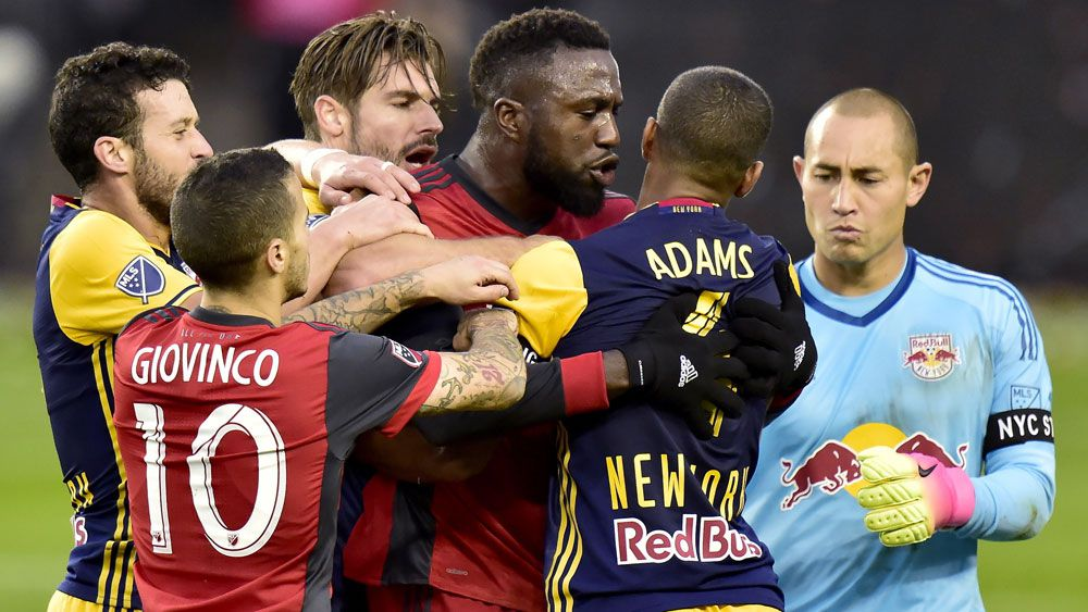 Toronto stars to miss MLS conference final after being red-carded for violent conduct