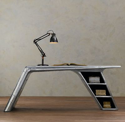 "<strong><a href=""https://www.restorationhardware.com/catalog/product/product.jsp?productId=prod280189"" target=""_blank"" draggable=""false"">Aviator wing desk&nbsp;</a></strong>"
