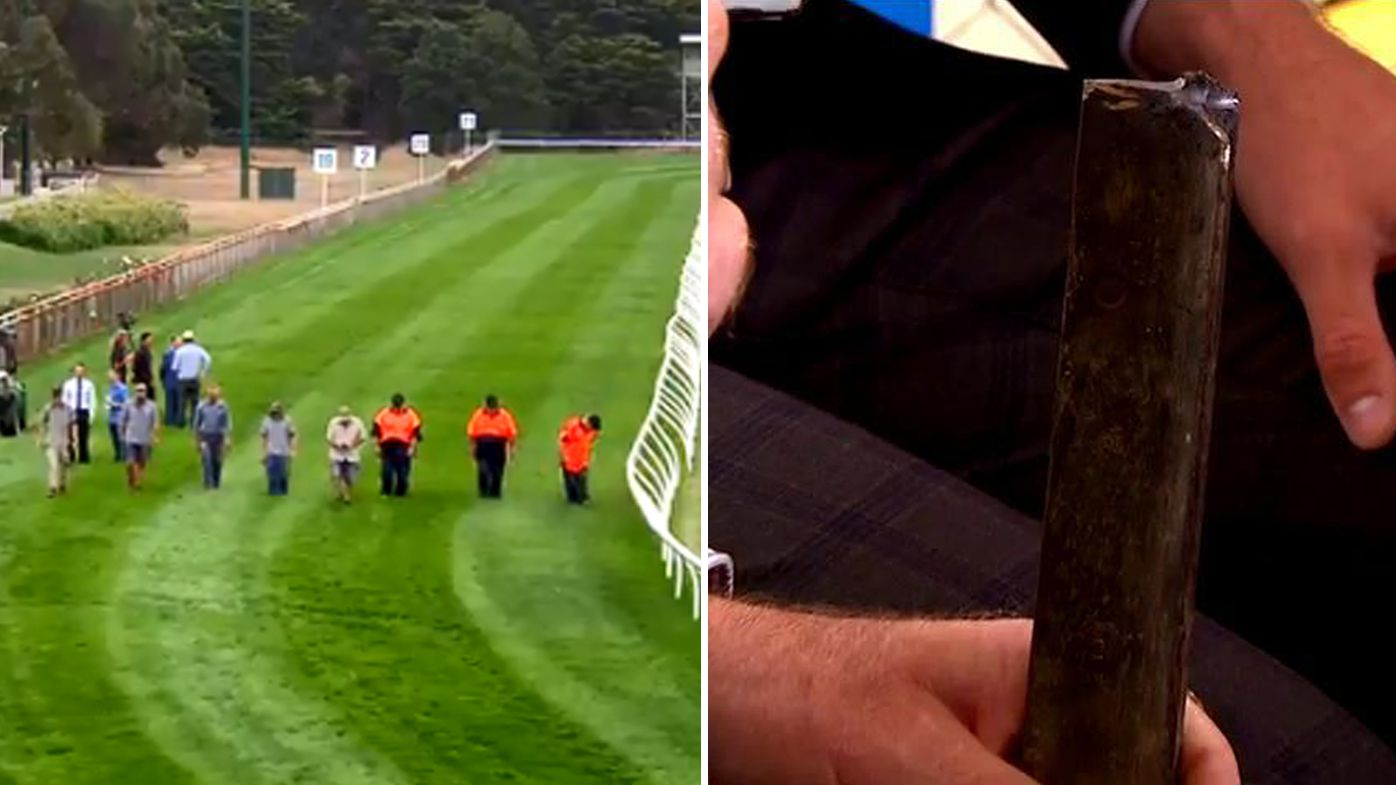 Police investigate Kilmore race incident, steel spikes found on track