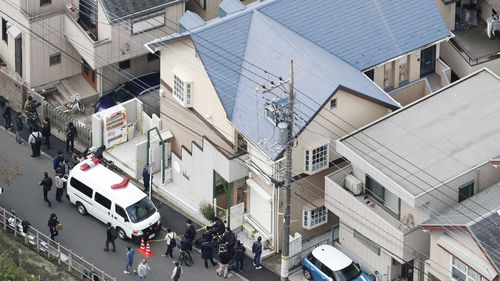 Police found the dismembered bodies of nine people inside Takahiro Shiraishi's apartment outside Tokyo.