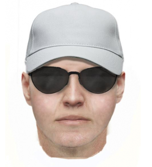 Police have released a computerized image of what they believe the suspect looks like. (Supplied)