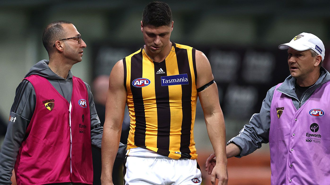 Matthew Lloyd urges Hawthorn's Jonathon Patton to 'streamline' his body