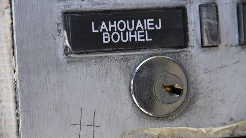 Mohamed Lahouaiej Bouhlel's door bell. (AFP)