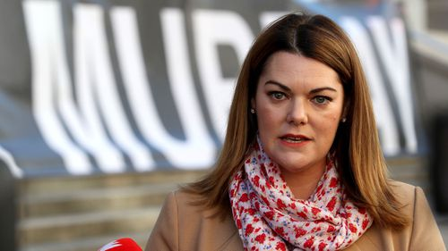 Greens senator Sarah Hanson-Young has demanded answers about the wombat hunting.