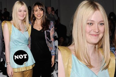 Dakota Fanning... 17 going on 45?