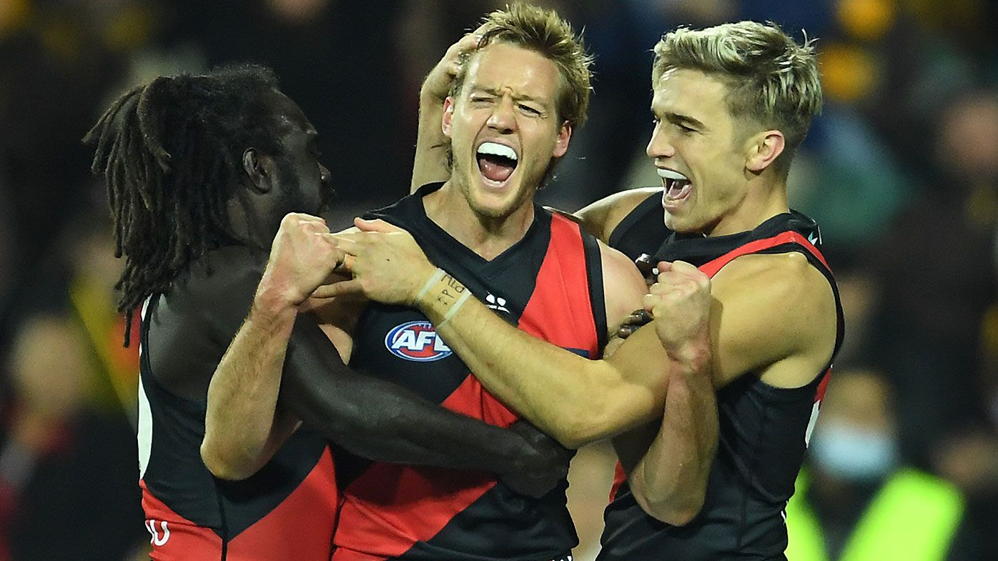 'A very easy decision': Darcy Parish signs two-year contract extension with Essendon