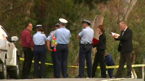 The victim's body was found by a roadside in the Adelaide Hills. (9NEWS)