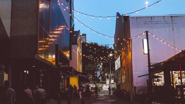 Fish Lane, South Brisbane's new dining, art and entertainment precinct